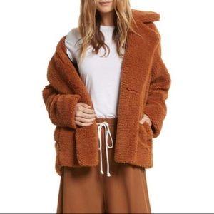 Free People Teddy coat 💙